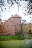 Gothic castle in Oporow, Poland Royalty Free Stock Photo