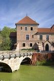 Gothic castle in Oporow, Poland Stock Photo