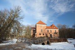 Gothic castle in Oporow, Poland Royalty Free Stock Photos