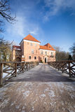 Gothic castle in Oporow, Poland Stock Photography