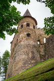 Gothic castle Stara Lubovna. In Slovakia royalty free stock image