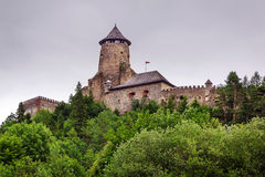 Gothic castle Stara Lubovna royalty free stock images
