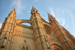 Gothic Cathedral Royalty Free Stock Photos