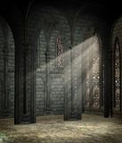 Gothic cathedral 2 Stock Images