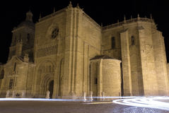 Gothic cathedral. Santa maria church is a gothic cathedral located in ciudad rodrigo, in the salamanca province (spain Stock Photography