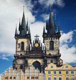 Gothic cathedral Stock Photography