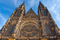 Gothic Cathedral Stock Image