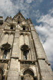 Gothic cathedral. In France Orlean Royalty Free Stock Photography