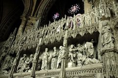 Gothic cathedral. In France Orlean Royalty Free Stock Images
