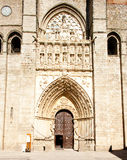 Gothic cathedral, Avila Stock Photo