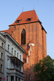Gothic Cathedral Basilica Tower in Torun Royalty Free Stock Photography