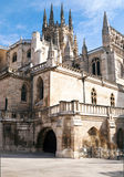 Gothic cathedral of Burgos Royalty Free Stock Images