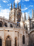 Gothic cathedral of Burgos Royalty Free Stock Photography