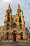 Gothic cathedral of Burgos, Spain Royalty Free Stock Photos