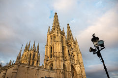 Gothic cathedral of Burgos, Spain Stock Photos
