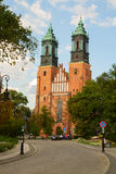 Gothic cathedral church , Poznan, Poland Stock Photo