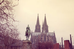Gothic Cathedral in Cologne, Germany Stock Photos