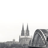 Gothic Cathedral in Cologne, Germany Royalty Free Stock Photography