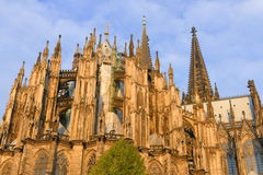 Gothic cathedral in Cologne Stock Image
