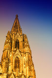 Gothic Cathedral in Cologne (Köln) Royalty Free Stock Images