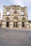 Gothic cathedral of the Cuenca Stock Photography