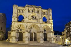 Gothic cathedral of Cuenca Spain Royalty Free Stock Image