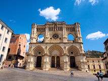 Gothic cathedral in Cuenca, Spain Royalty Free Stock Image