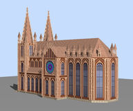The Gothic Cathedral Royalty Free Stock Image