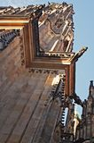 Gothic cathedral detail Stock Image