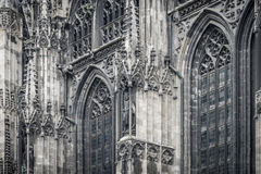 Gothic cathedral detail Stock Photos