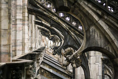 Gothic cathedral Duomo Stock Image