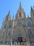 Gothic cathedral Royalty Free Stock Images