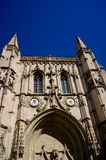 Gothic cathedral in France Stock Images