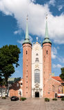Gothic Cathedral in Gdansk Oliwa, Poland Royalty Free Stock Images
