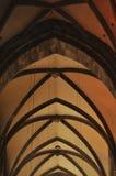 Gothic cathedral interior Stock Photos