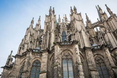 Gothic cathedral in Koln, Germany. Europe Stock Photo