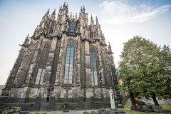 Gothic cathedral in Koln, Germany. Europe Royalty Free Stock Photo