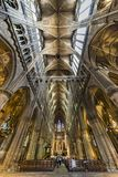 Gothic Cathedral, Metz Stock Image