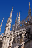 Gothic Cathedral of Milan Italy Stock Photography