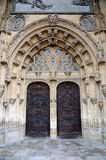 Gothic Cathedral in Oviedo, Spain Stock Image