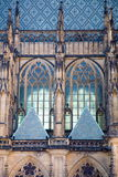 Gothic cathedral in Prague stock photos