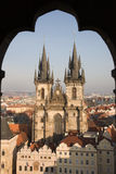 Gothic cathedral in Prague Stock Photography