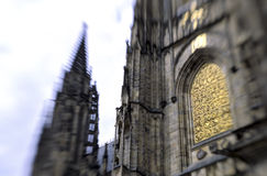 Gothic Cathedral- Prague, Czech Republic Stock Photography