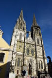 Gothic cathedral in Regensburg, Germany Royalty Free Stock Image
