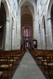 Gothic cathedral of Saint Gatien in Tours Royalty Free Stock Image
