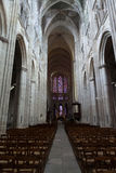 Gothic cathedral of Saint Gatien in Tours, Stock Photos