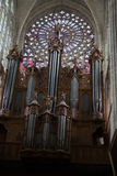 Gothic cathedral of Saint Gatien in Tours, Stock Photo