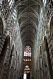 Gothic cathedral of Saint Gatien in Tours Stock Photos
