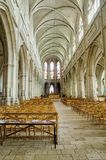 Gothic Cathedral Saint Louis Blois Royalty Free Stock Images