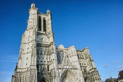 Gothic Cathedral of the Saint-Pierre-et-Saint-Paul Royalty Free Stock Photo